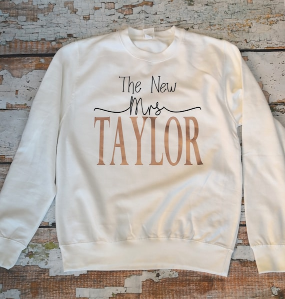 New Mrs Sweatshirt