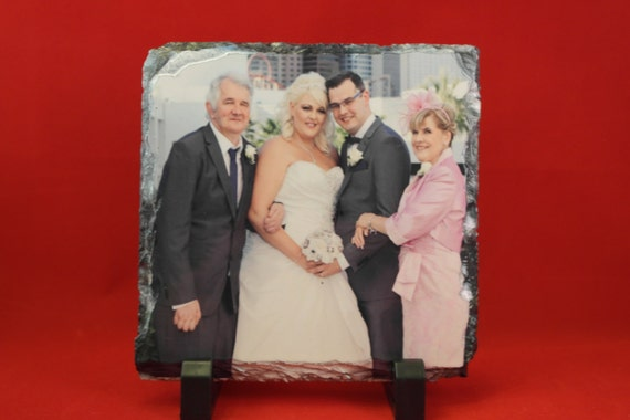 Photo slate personalised add your own picture perfect for any occasion 7 sizes
