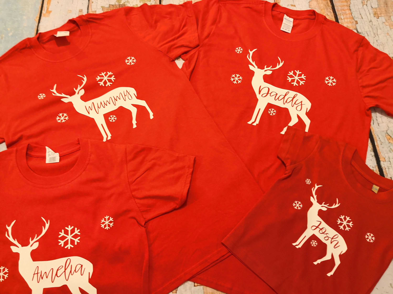 Family Christmas Shirts.Family Christmas Shirts Matching T Shirts Matching Stag
