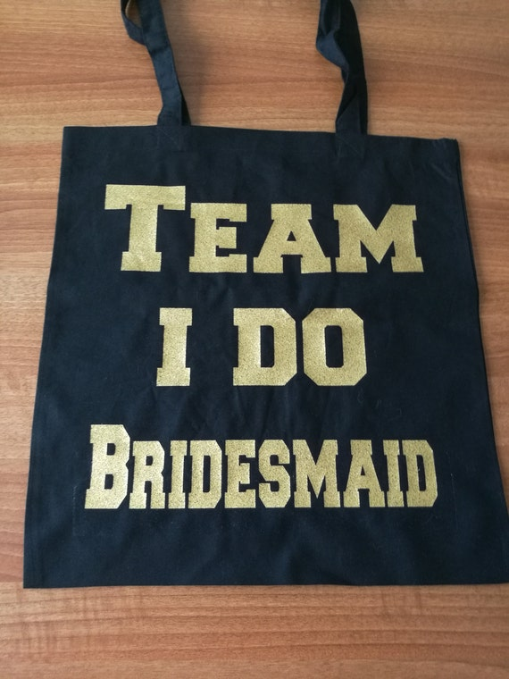 bridesmaid gift bags, team i do gifts, hen party bags