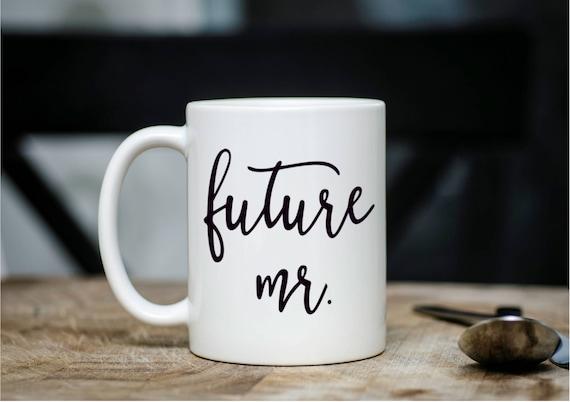 Future Mr Mug, Engagement Gift, Wedding Planning Mug, Future Mr, Husband to be gift,