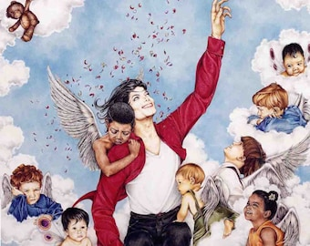 Michael Jackson INSPIRATION art print