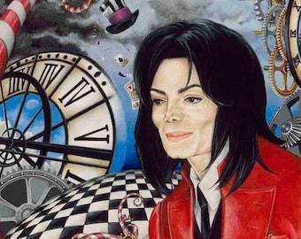 Michael Jackson MADHATTER print on deluxe art paper