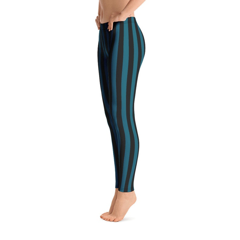 Kids Adult Leggings Black Teal Blue running workout active wear 5169 Mommy and Me matching Yoga Pants Capris Children Teen dance pants