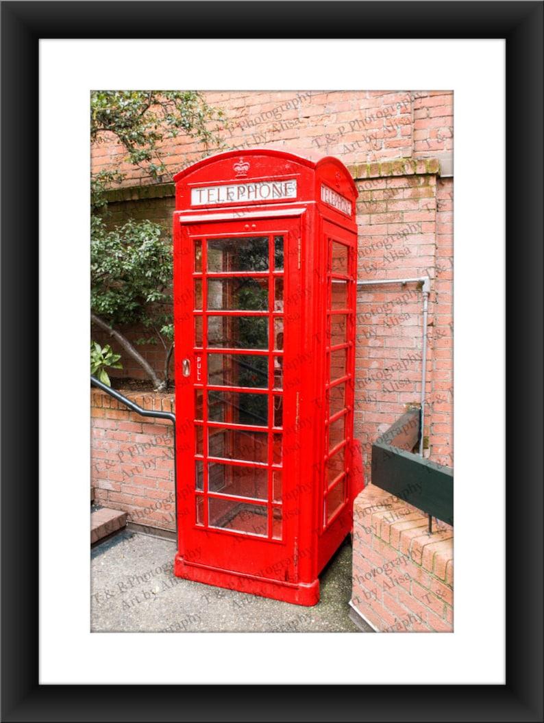 PHONE BOOTH, London photos, DIGITAL photograph, London phone booth, Vintage  photograph, antique wall art, home decor, wedding gift, fine art