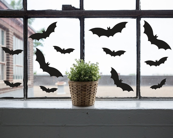 Bat Cartoon Window Decal Custom Sticker Shop