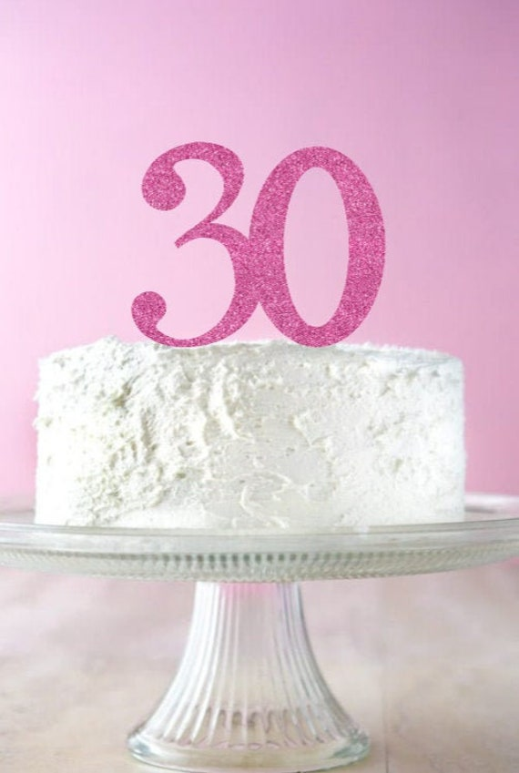 Astounding 30Th Birthday Cake Topper 40Th Birthday Decor 50Th Birthday Cake Personalised Birthday Cards Veneteletsinfo