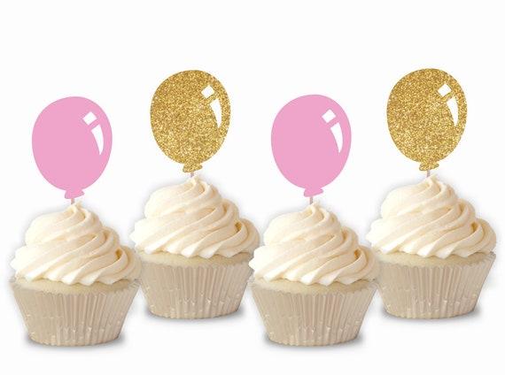 cupcake topper Balloons cupcake topper