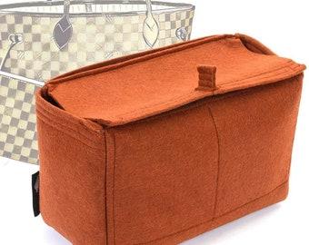 e6c9356e4e2b7 Felt Bag Organizer with Top-Closure Style for Neverfull Models