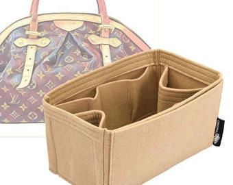 11x6x5.5 Purse Insert Organizer Purse Shaper Strong and Durable Fits LV Tivoli GM Your color choice. .Contour