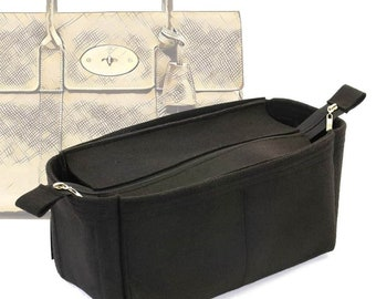 f7191eb49e Bag and Purse Organizer with Zipper Top Style for Mulberry Bayswater (More  colors available)