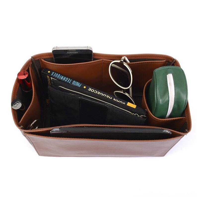 0937865efd1f Birkin 35 Deluxe Leather Handbag Organizer Leather bag insert