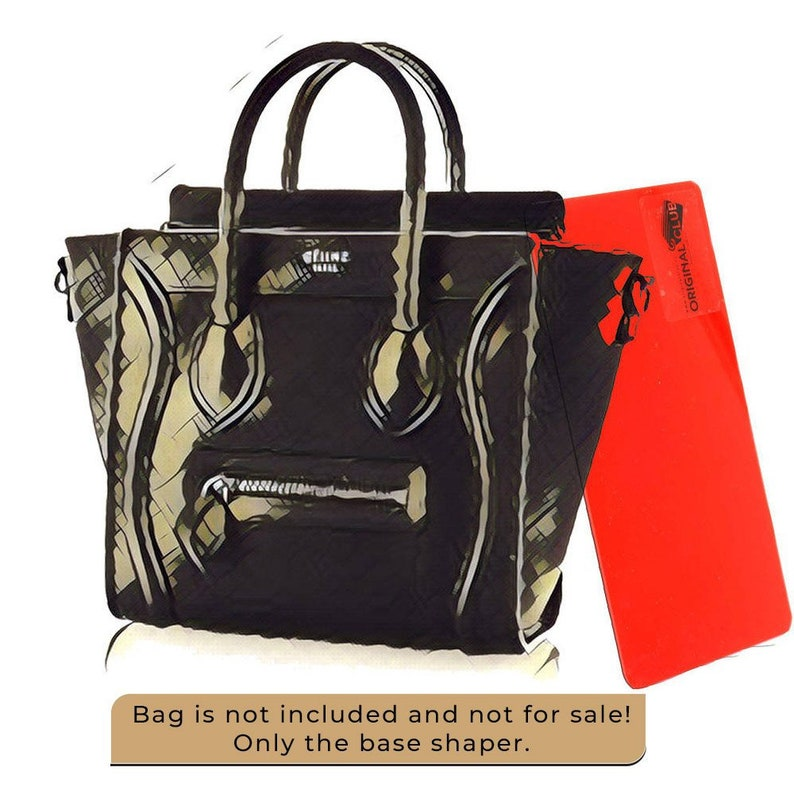 31c2866cc7265 Base Shaper For Celine Bags Acrylic Base Shaper Express image ...
