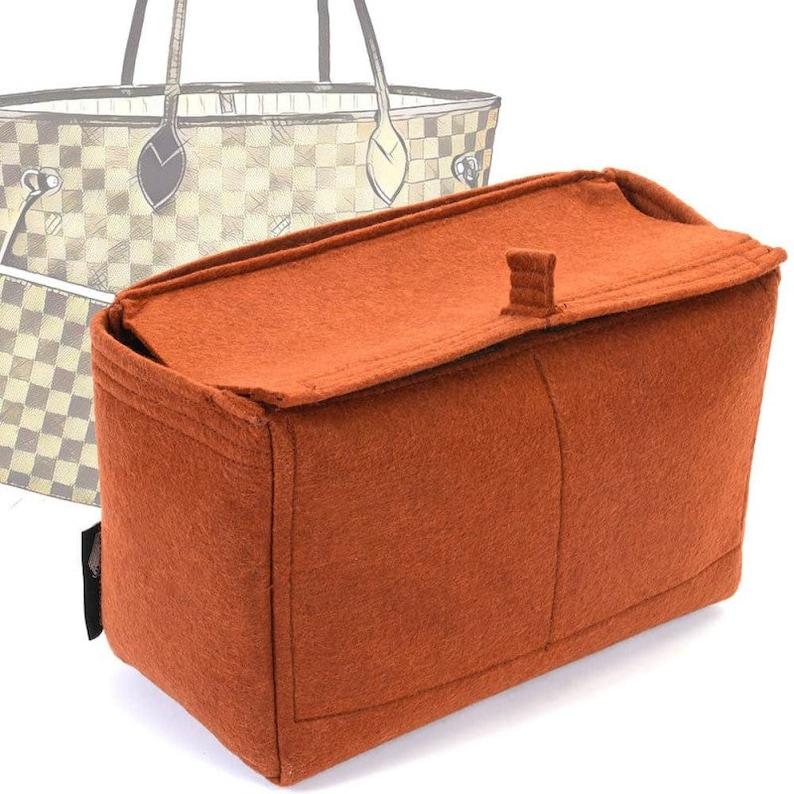 Felt Bag Organizer with Top-Closure Style for Neverfull Models 5a19f8f0da32a