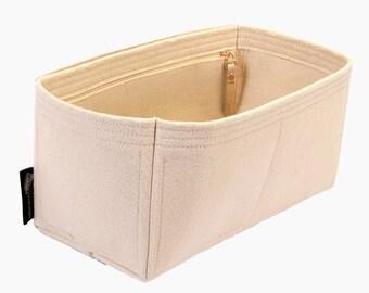 SP 25 / 30 / 35 / 40 Interior Zipped Pocket Style Bag and Purse Organizer, Bag Insert, Bag Organizer