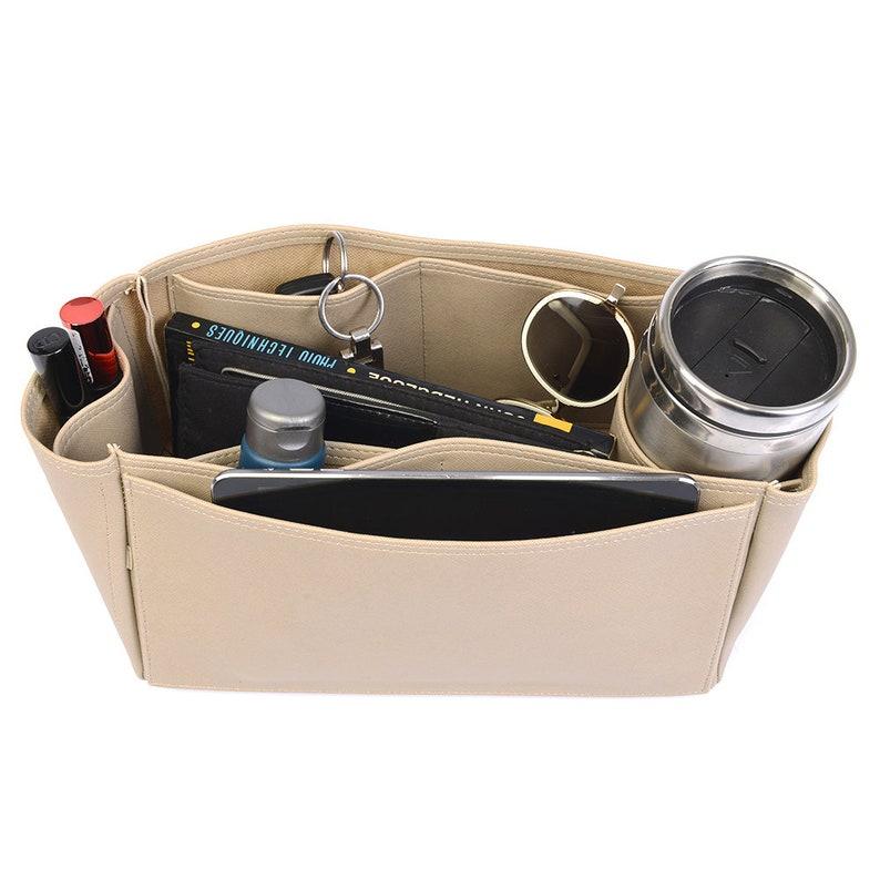Herbag 31 Deluxe Leather Handbag Organizer Leather bag insert for Her Herbag 31