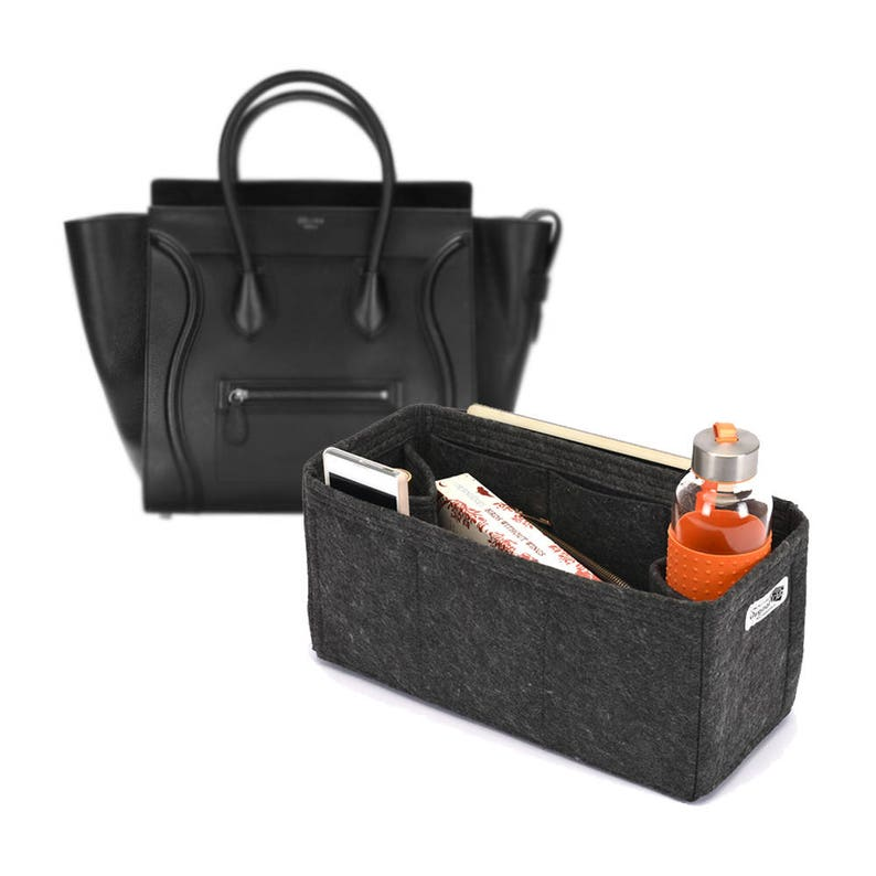 c653caf94c Bag and Purse Organizer to fit in Celine Bags Felt Purse