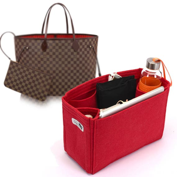 56c5c76bf2ee Bag and Purse Organizer for Louis Vuitton Bags Felt Purse