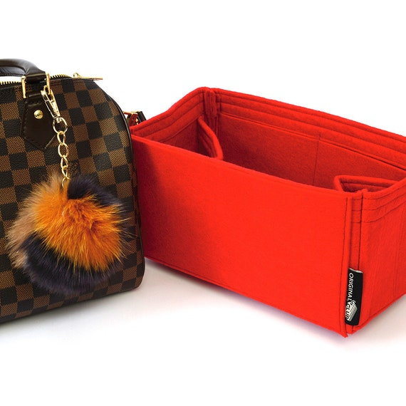 07bf617bcafd Set of Bag and Purse Organizer with Regular Style and a Pompom