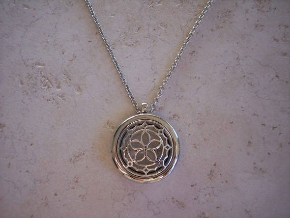 Dreamcatcher Boho Diffuser Necklace Stainless Steel Locket Cork Aromatherapy Essential Oil Best Friend Christmas Gift Young Living Doterra