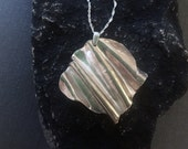 Silver Wave ocean wave necklace, everyday necklace long, Silver Statement Necklace, Unique necklaces uno de 50 inspired
