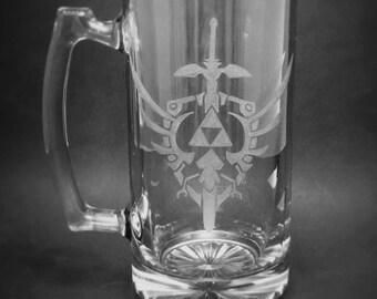 The Legend of Zelda, Hyrule Crest - Large Mug