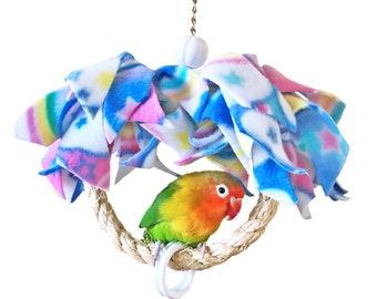 Mini Hanging Around Clouds and Rainbows