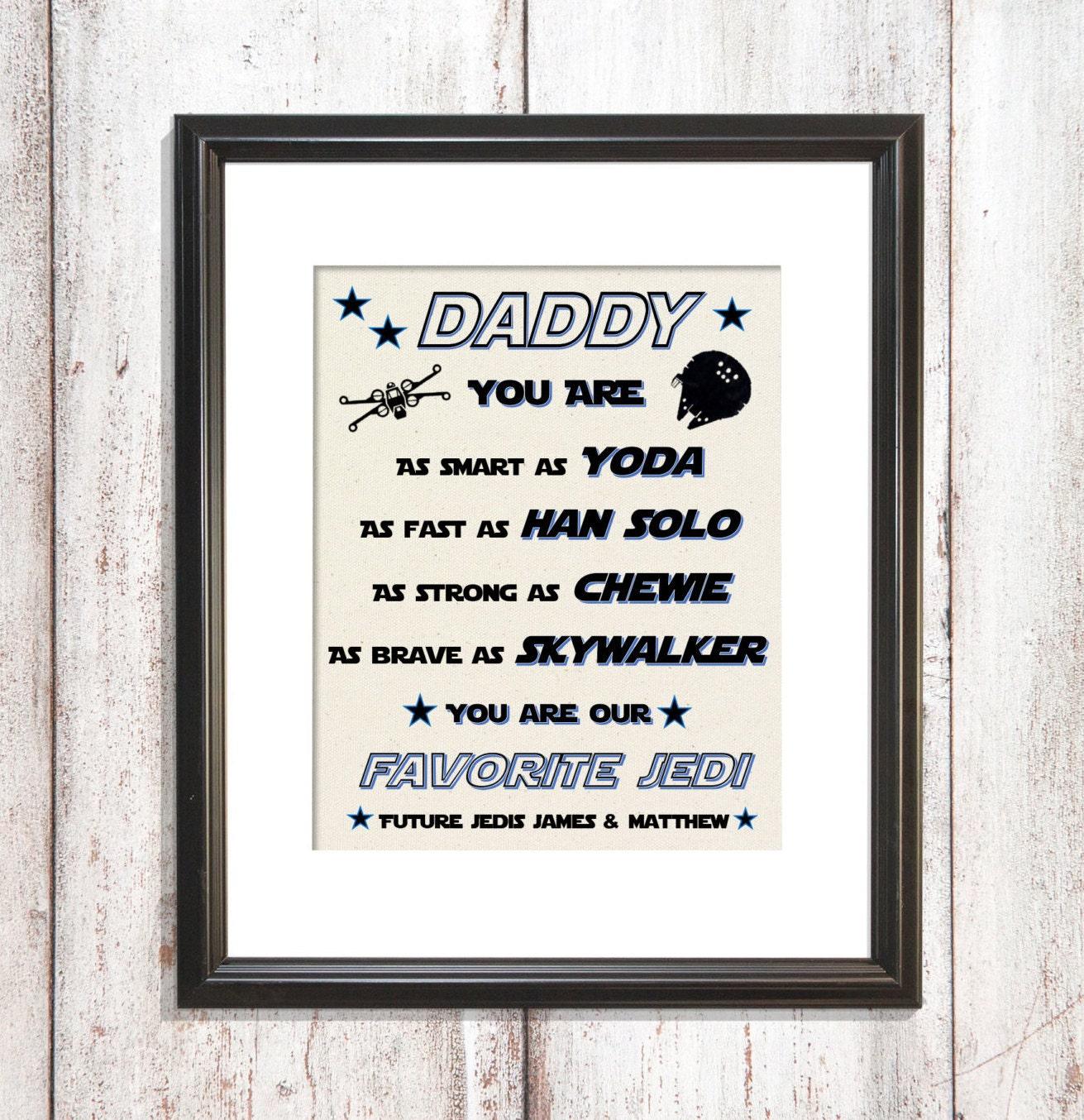Dad Star Wars Gift Star wars christmas gift Husband | Etsy
