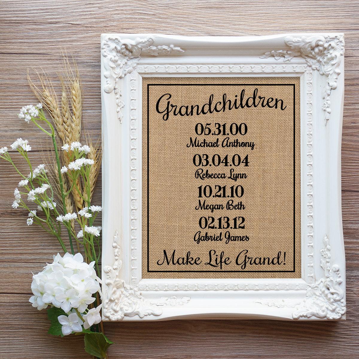 Weihnachts-Geschenk für Oma Opa Weihnachtsgeschenk Mom | Etsy