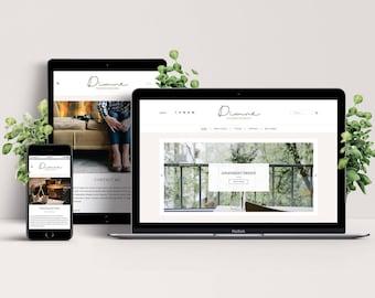 Diane WordPress Theme - Responsive & Stylish Template