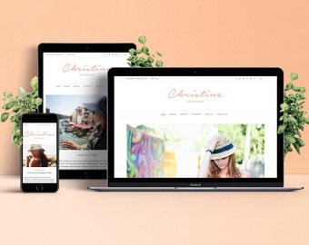 Christine WordPress Theme - Responsive & Stylish Template