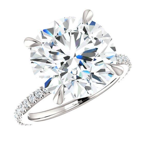 bague diamant 6 carats