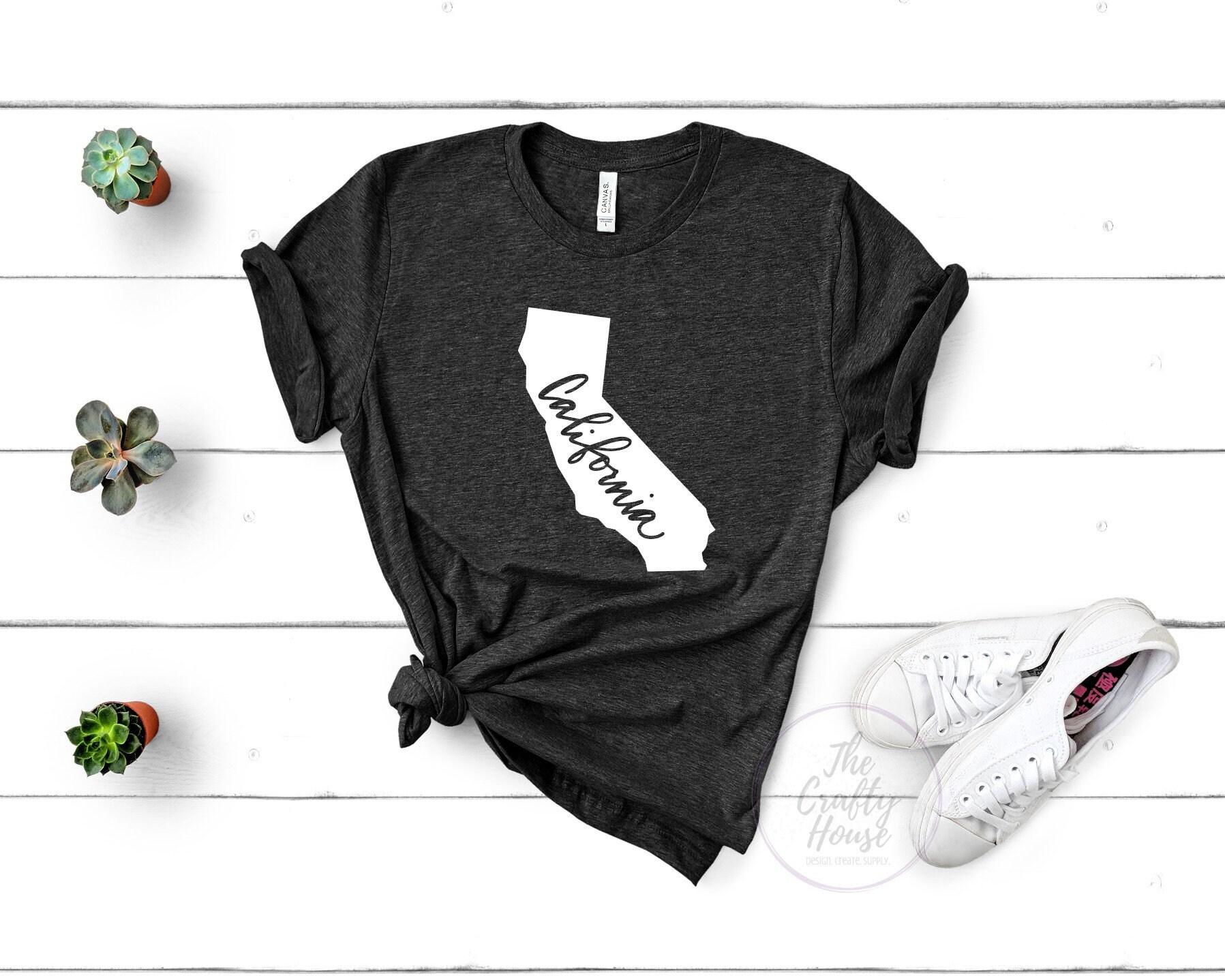 California State T Shirt State T Shirt Black T Shirt Black Unisex T Shirt