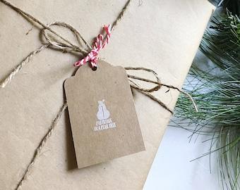 Christmas Gift Tags, Holiday Gift Tags, 12 Days of Christmas Tags, Christmas Tags