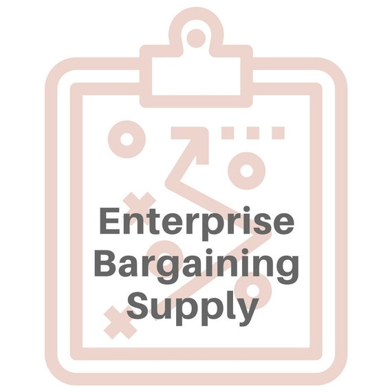 Enterprise Bargaining Supply