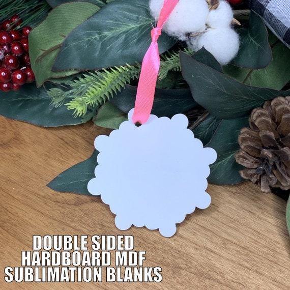 SUBLIMATION ORNAMENTS | Sublimation Blanks | Christmas Ornaments | DIY