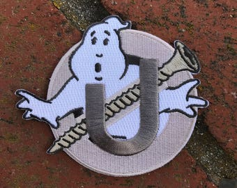 "Ghostbusters Screw U Patch 4"" - Holtzmann Inspired Embroidered Patch"