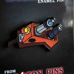 The Real Ghostbusters Ecto Goggles Enamel Pin