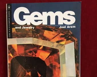 Gems and Jewelry by Joel Arem: 1975 Illustrated Paperback