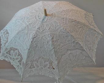 6e26ee608 Wedding Parasol, White lace parasol, bridal parasol
