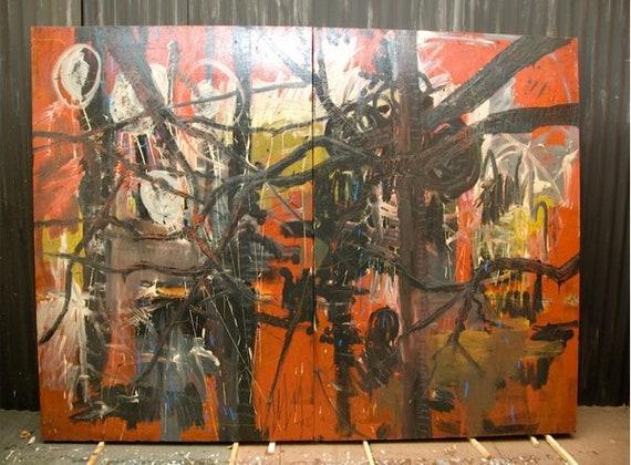 Dramatic Abstract Art