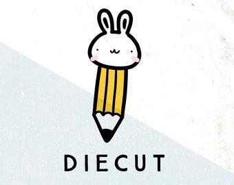 Doodlebun Pencil Die Cut
