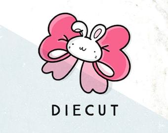 Doodlebun Cute Bow Die Cut
