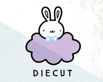 Doodlebun Cloud Die Cut