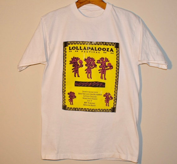 1991 Lollapalooza Festival T-shirt