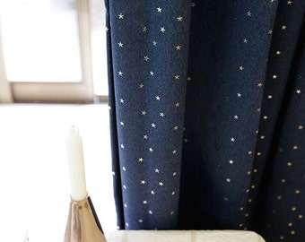 navy blackout curtains ivory sparkling silver star navy blackout curtain kids blackout curtains etsy