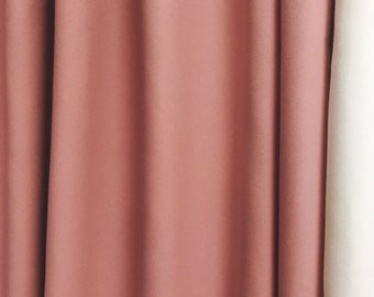 Sample Sale] 1 Pair of Pink Curtain 89 inch L by 55 inch W Grommet