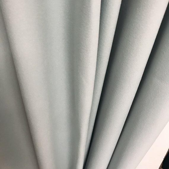 "Pale Mint curtain panel. Plain curtain. Various colours. 64"" 84"" 90"" 96"" Long by 55"" Wide. Curtains with ties. Window treatments"