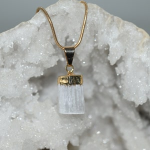 Decor Amethyst Point Crystal Pendant with Necklace GP-  Rock Collection Gemstones Crafting Stones Crystals