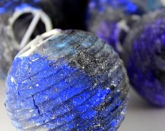 10 Galaxy Lantern String Lights   Hand Painted Galaxy Lights   Lantern Lights   Home Decor   Lantern Lights   Indoor/Outdoor Lights  